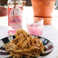 Recept: Spaghetti Carbonara e Pepe