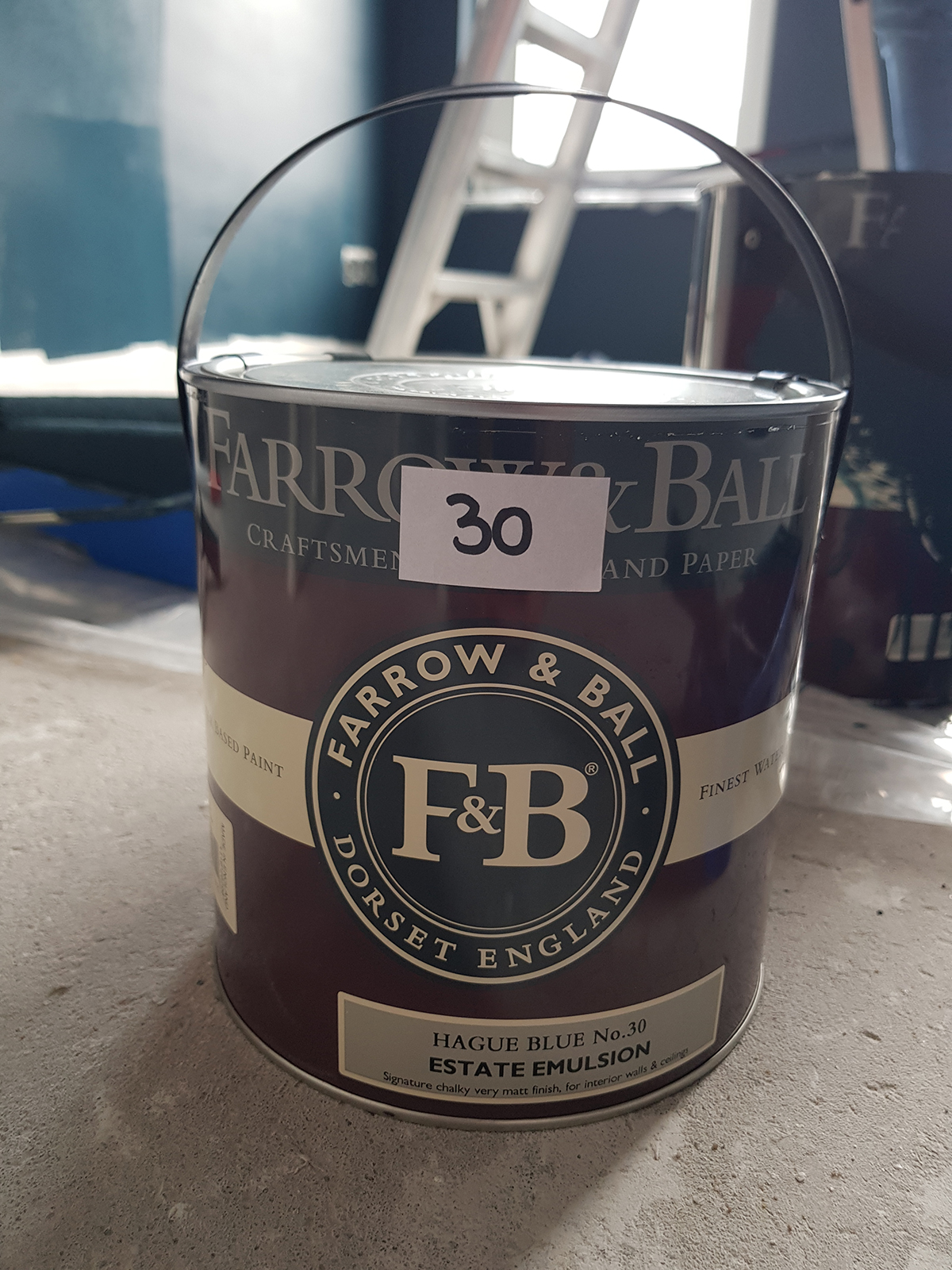 Hague Blue Farrow and Ball