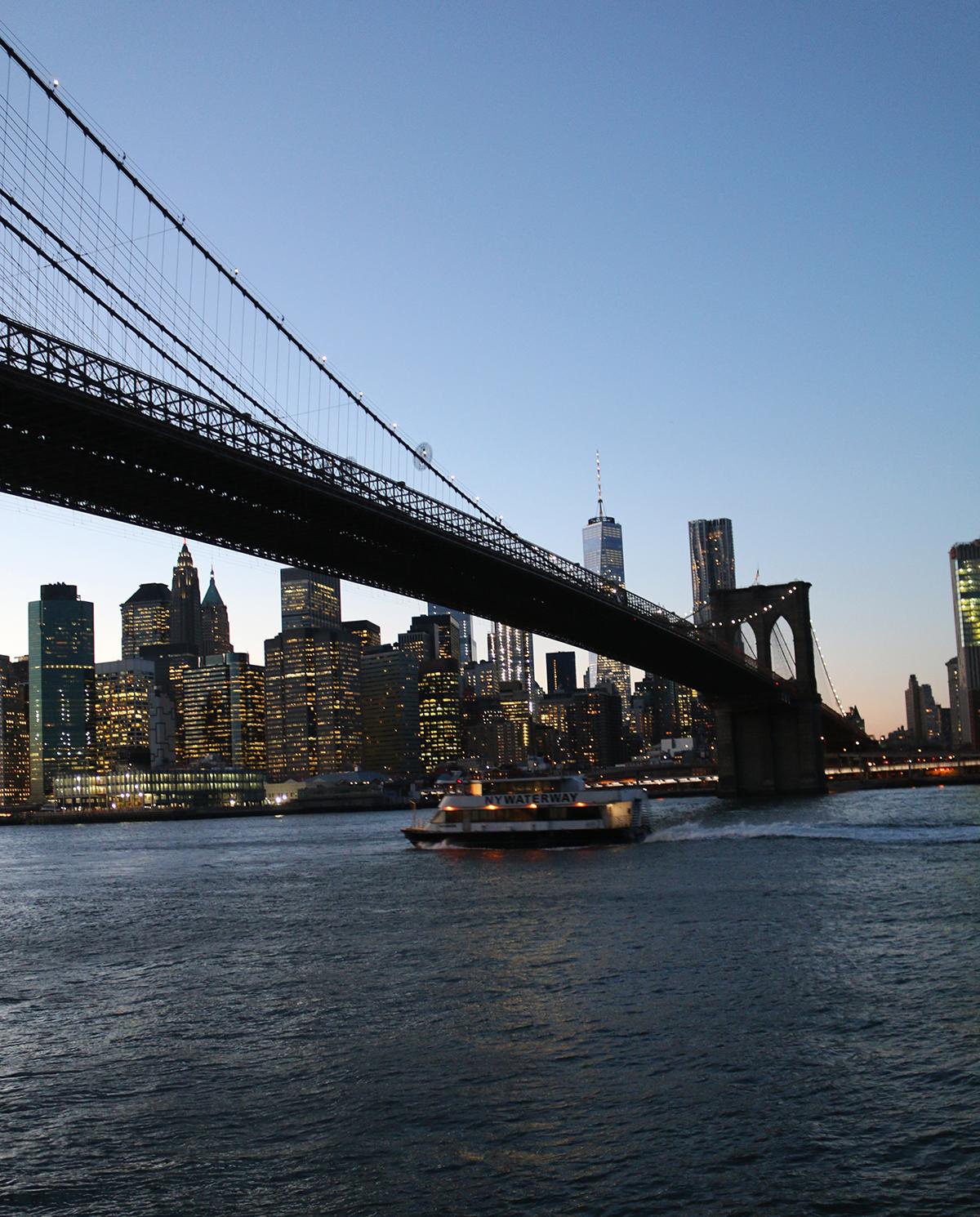 New York in december: Brooklyn