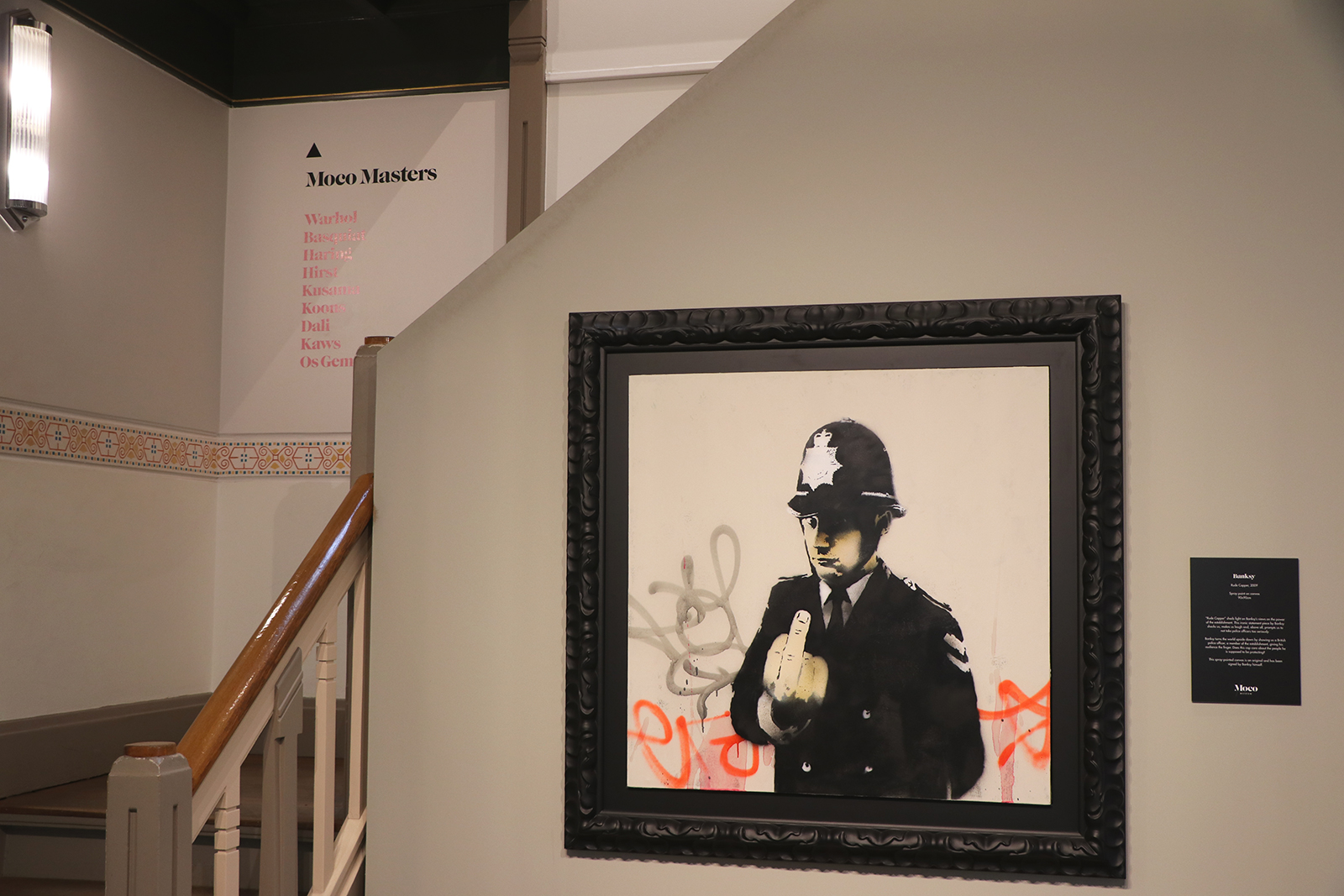 Banksy, Warhol, Arsham en Haring: het Moco Museum is een walhalla voor liefhebbers van kunst met een twist.