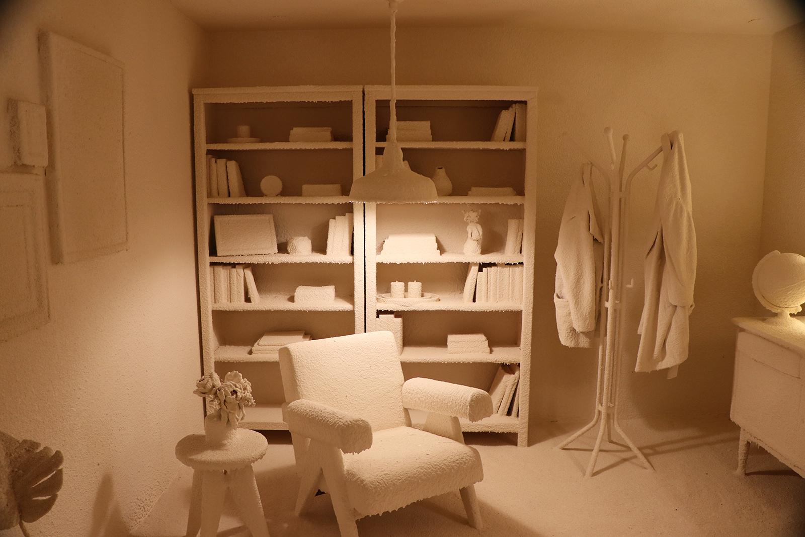 Moco Museum kamer met laagje kalk
