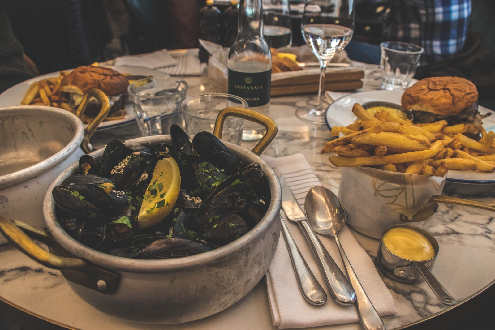 Eten in Trondheim Noorwegen