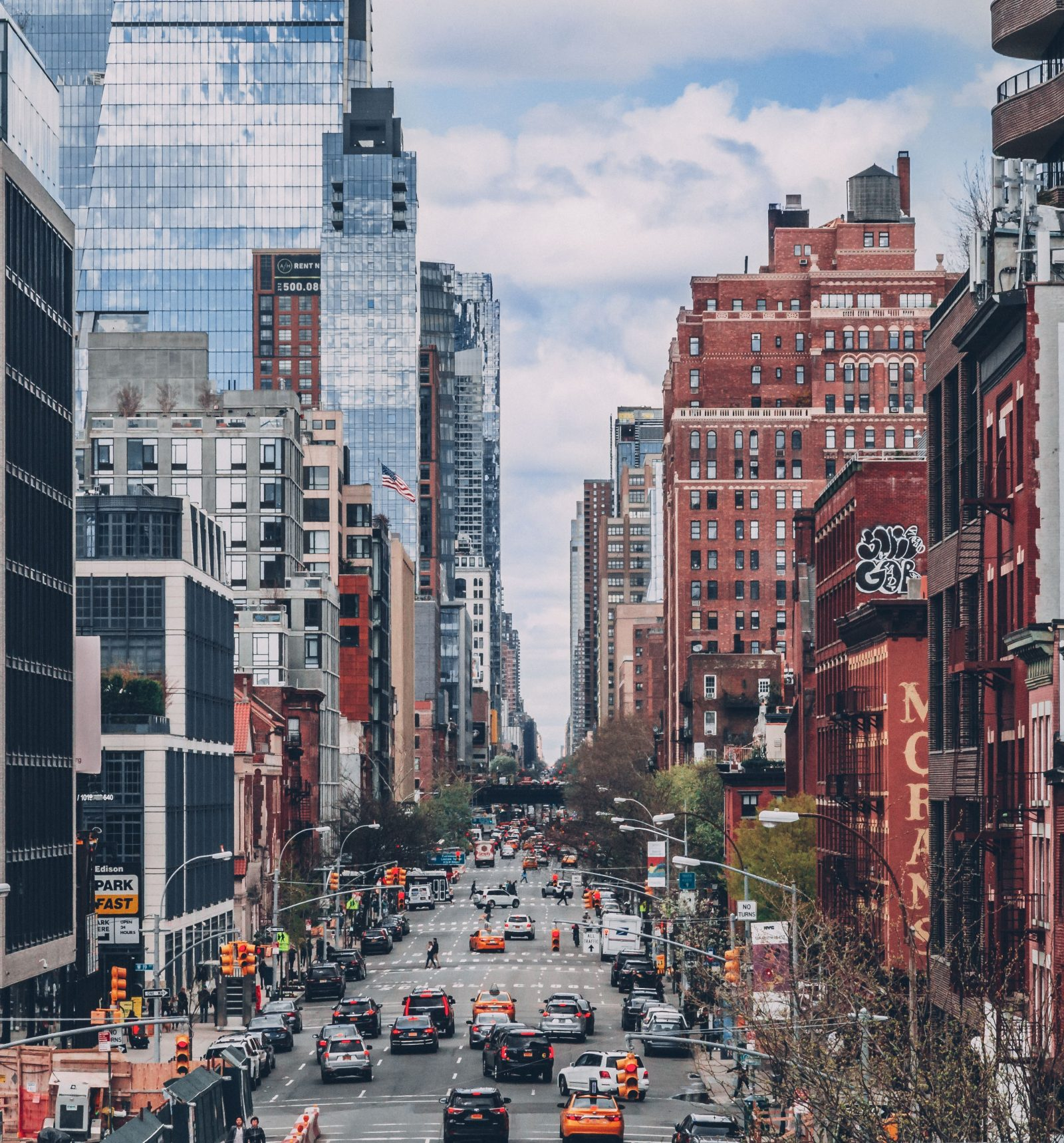 New York, van het vliegveld naar de stad