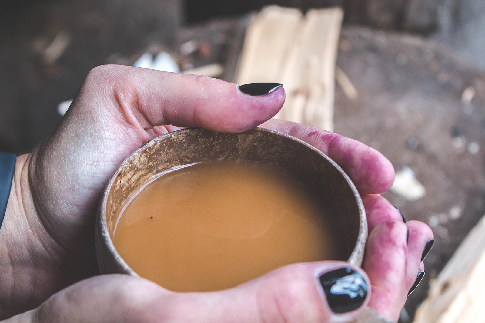 Op vakantie naar Finland - koffiedrinken