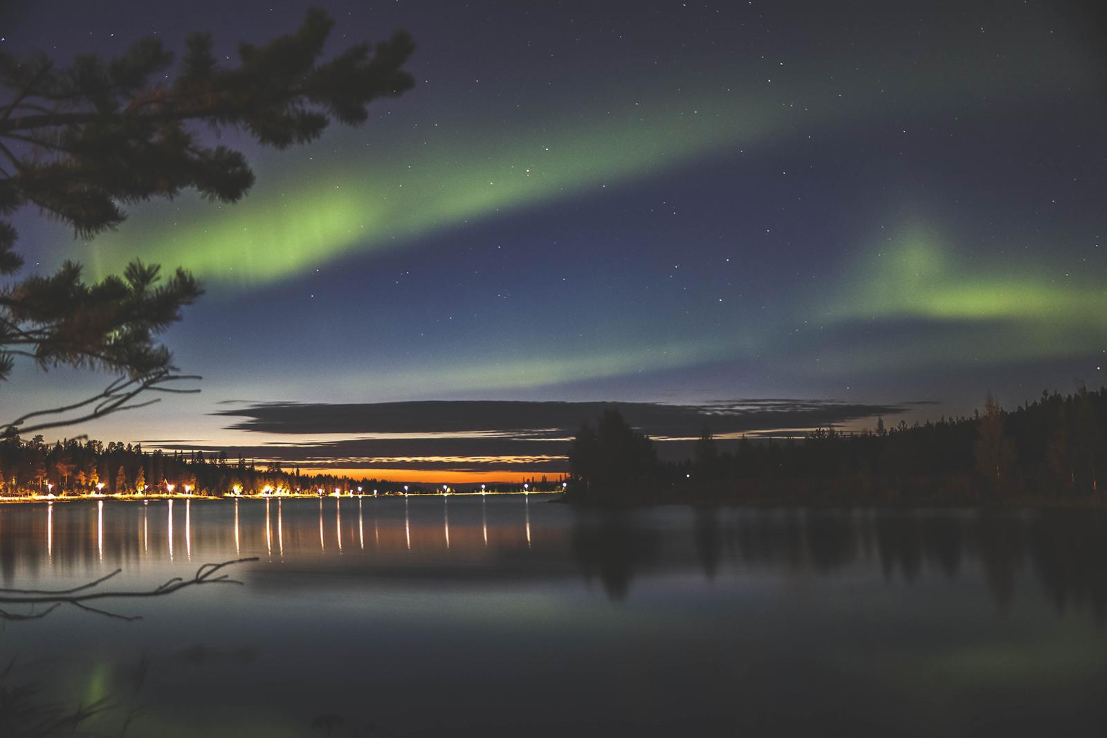Op vakantie naar Finland - Noorderlicht zien