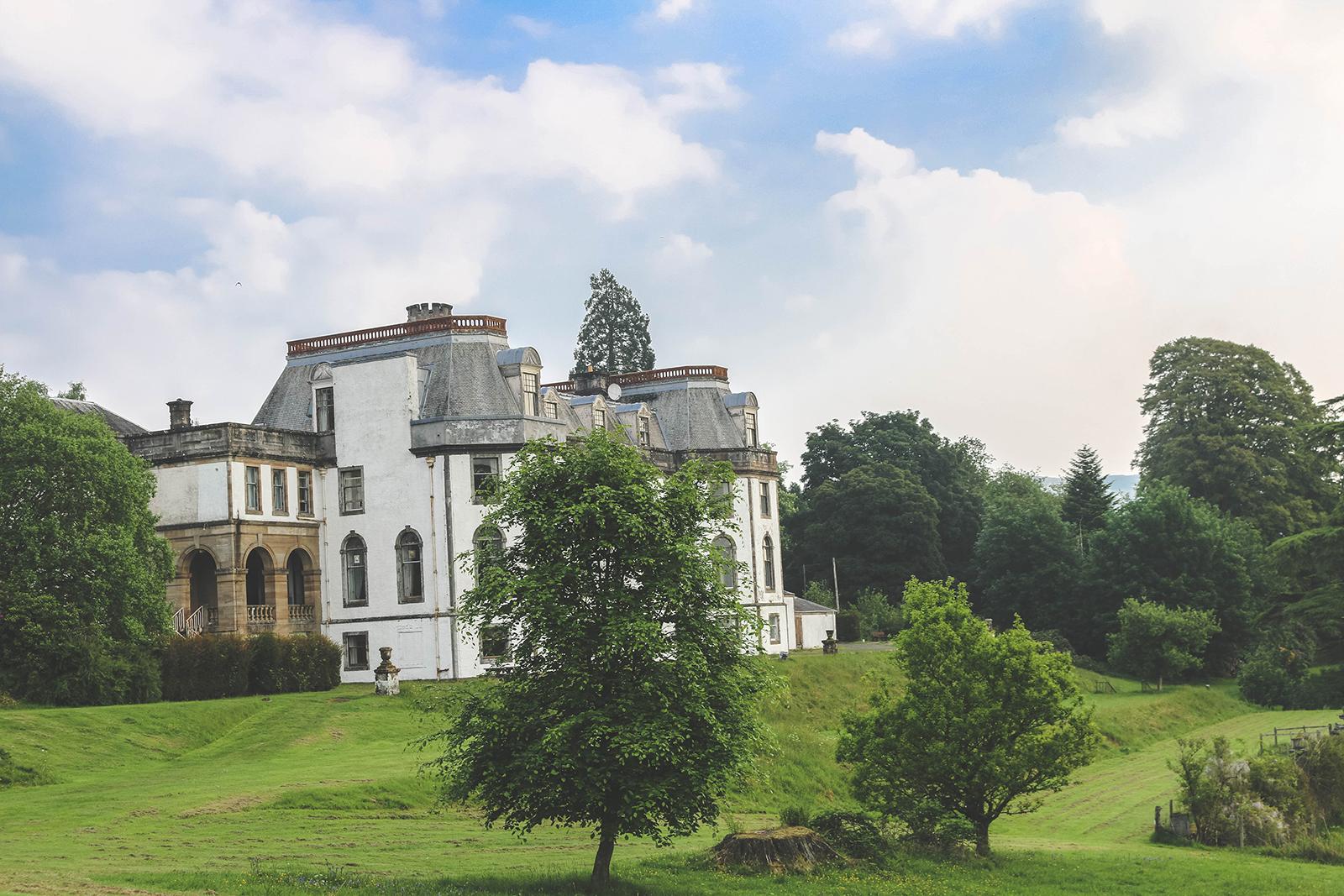 Landhuis Schotland