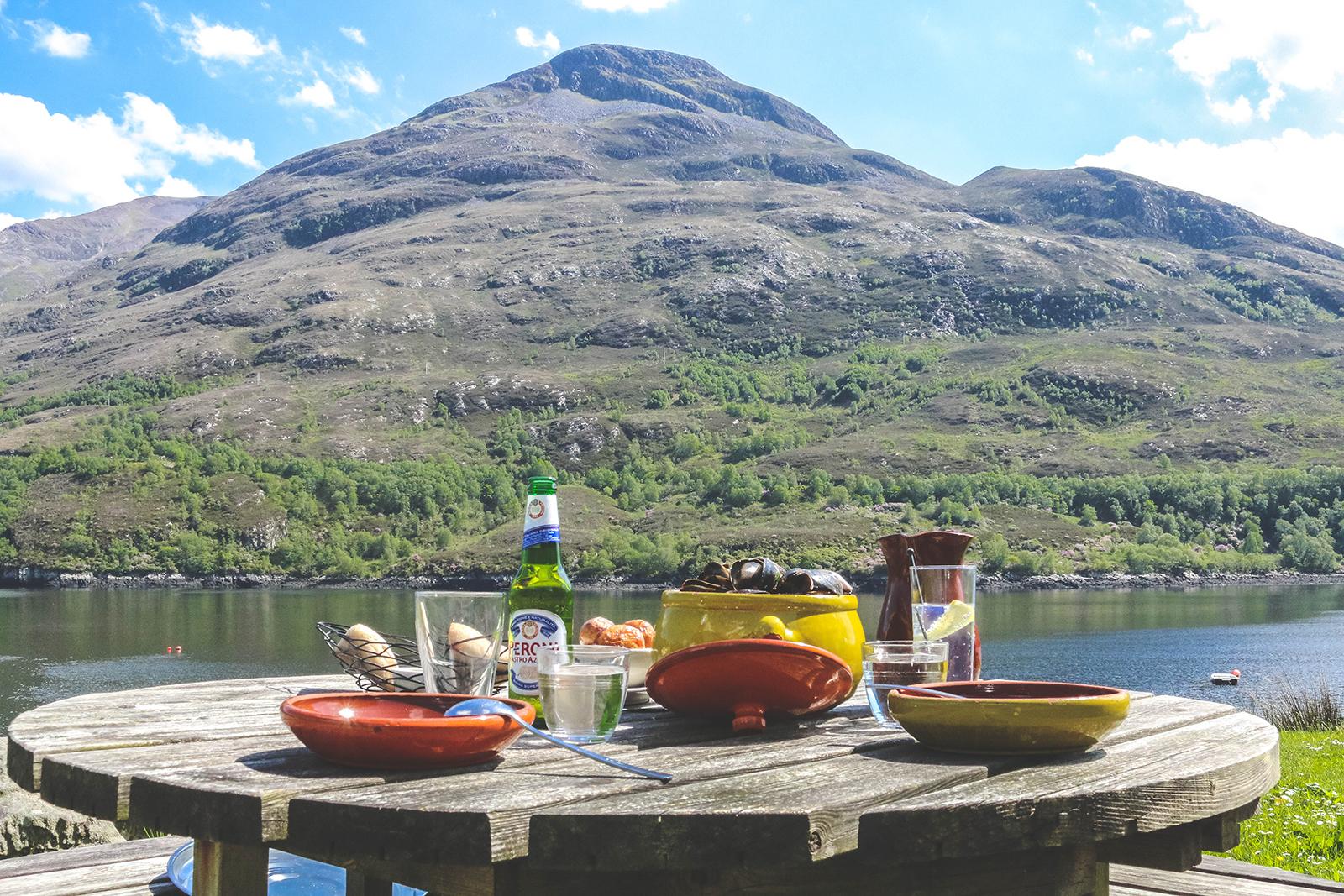 Schotse Hooglanden eten