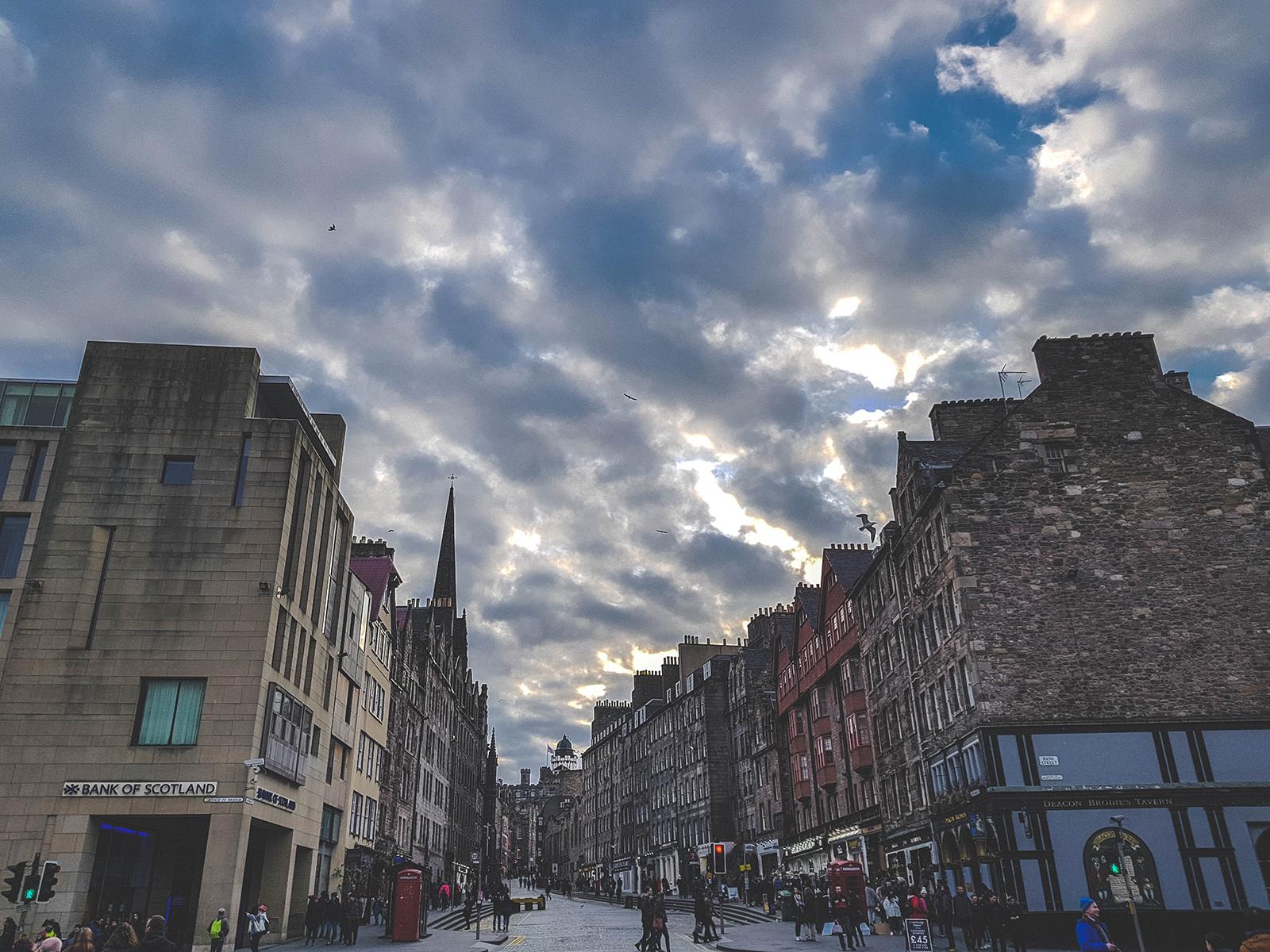 Edinburgh straatjes