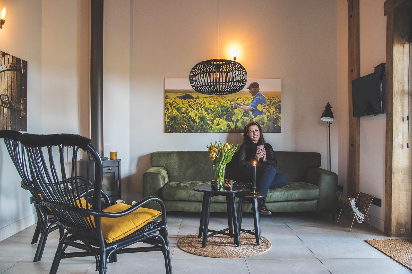 Overnachten in Wijnboerderij Welgelegen: onthaasten op de Veluwe en slapen in een wijnvat