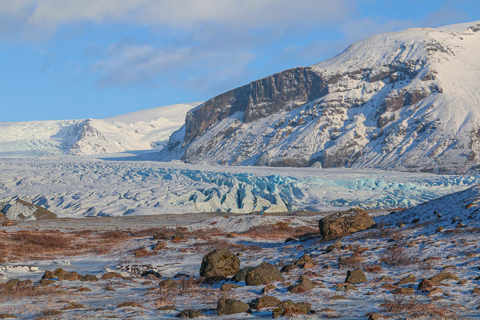 Roadtrip IJsland - Skaftafellsjökull