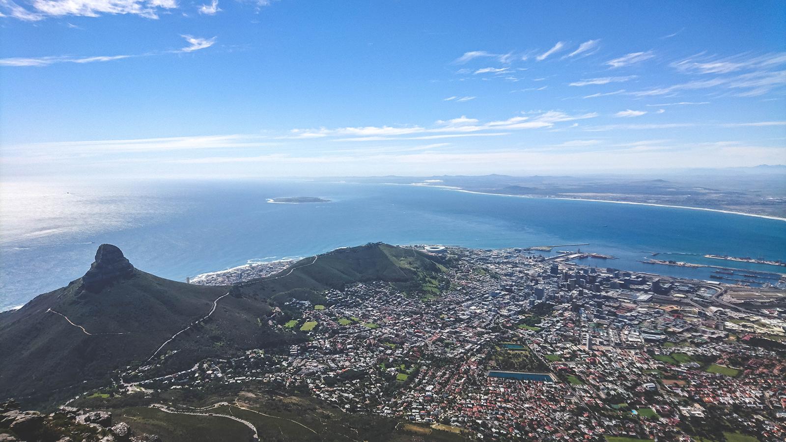 Einde Garden Route - Kaapstad