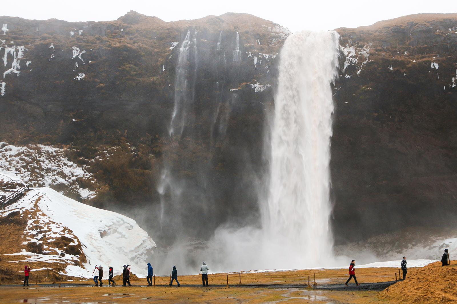 Roadtrip IJsland - Seljalandsfoss waterval