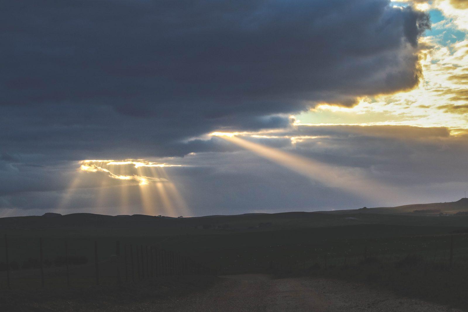 Swellendam Sunset Zuid-Afrika