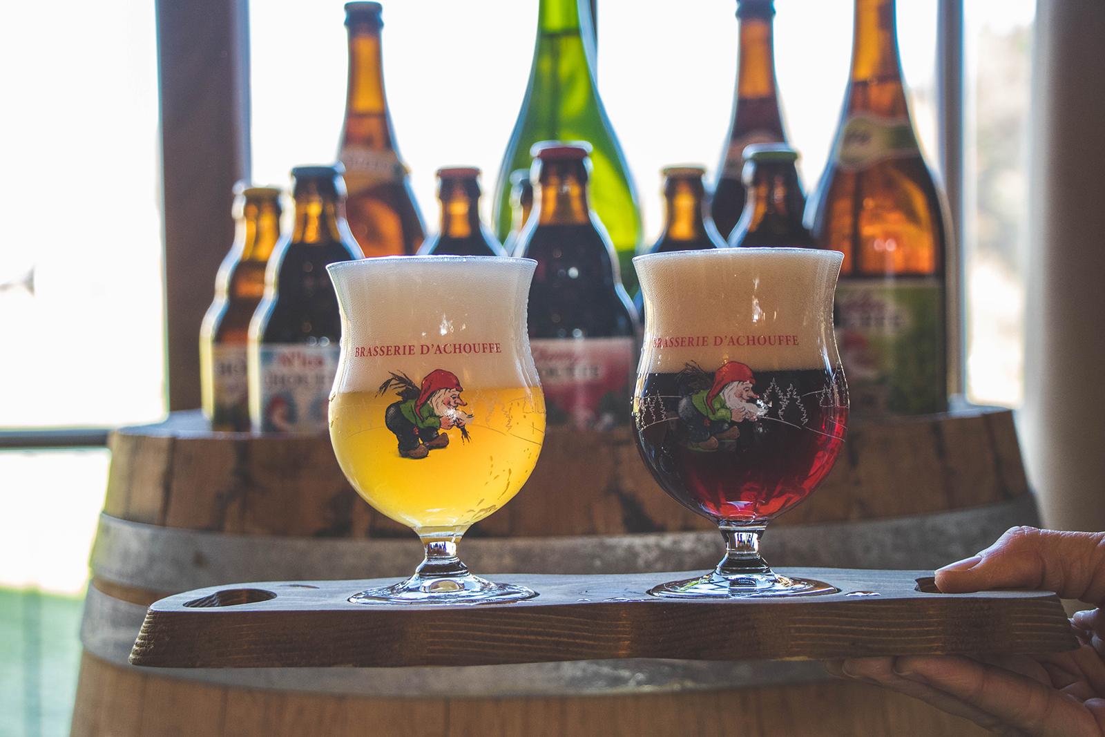 La Chouffe Belgie Bier