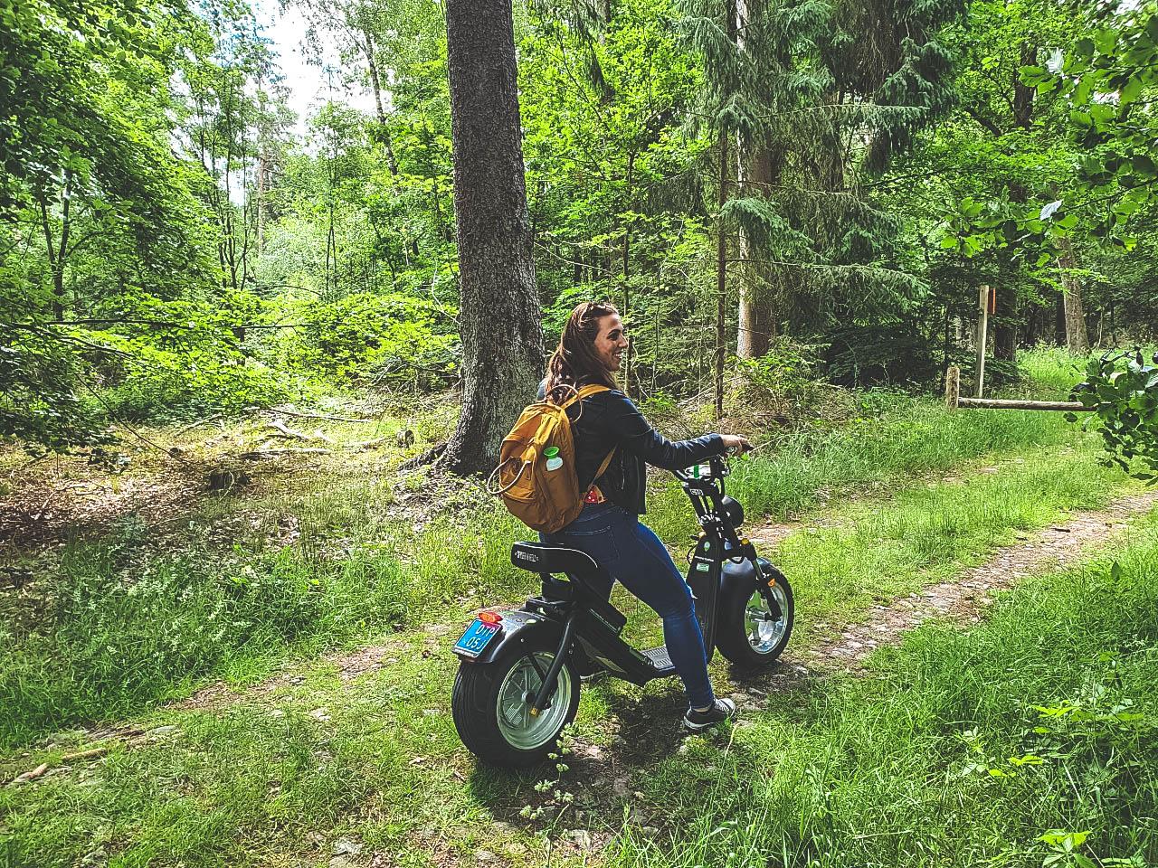 Ekotours Drenthe - Eko-Chopper -Eco-Scooter