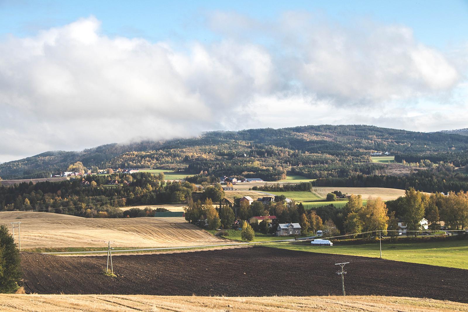 Uitzicht Golden Road Noorwegen