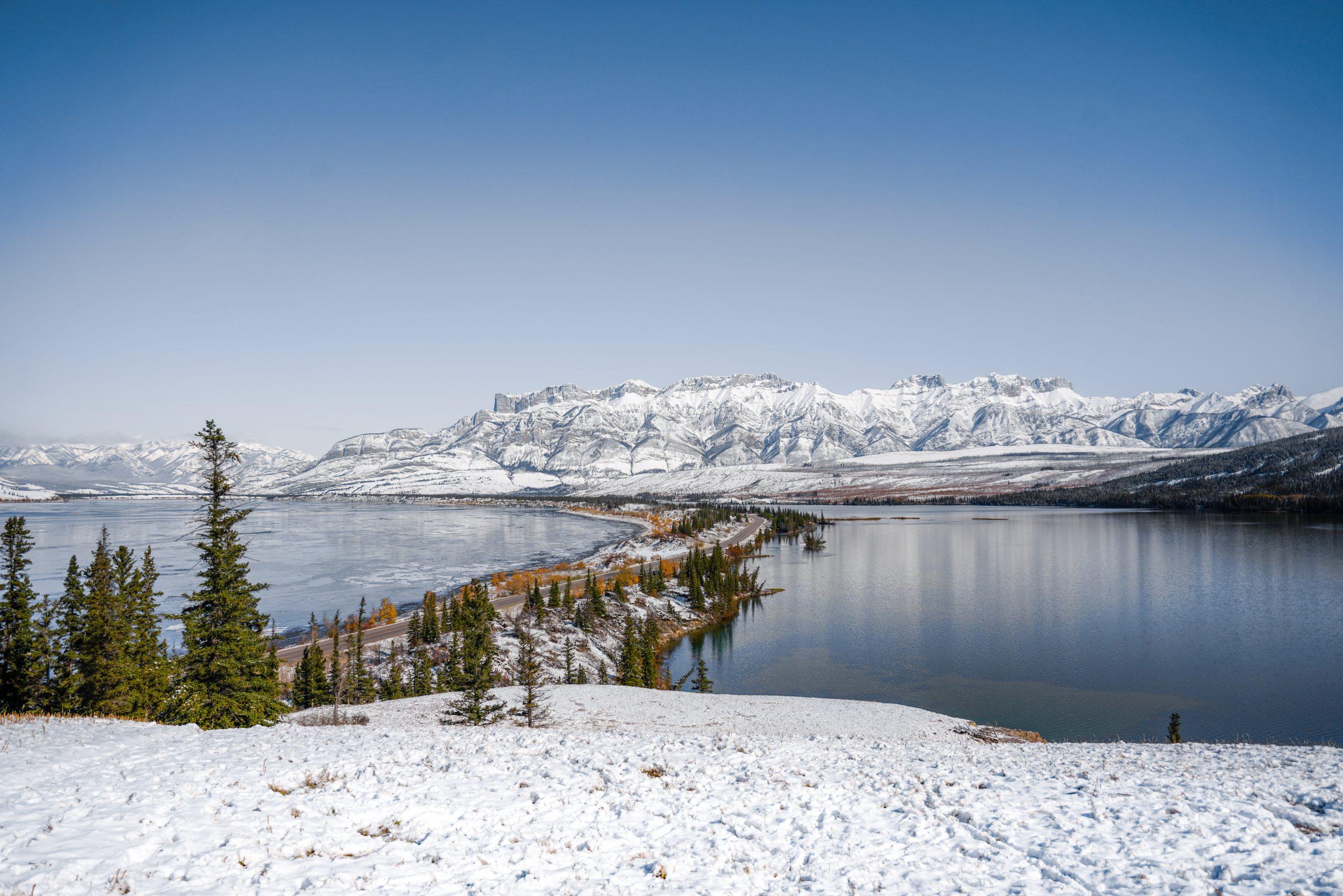 Wintersport Canada- Jasper National Park