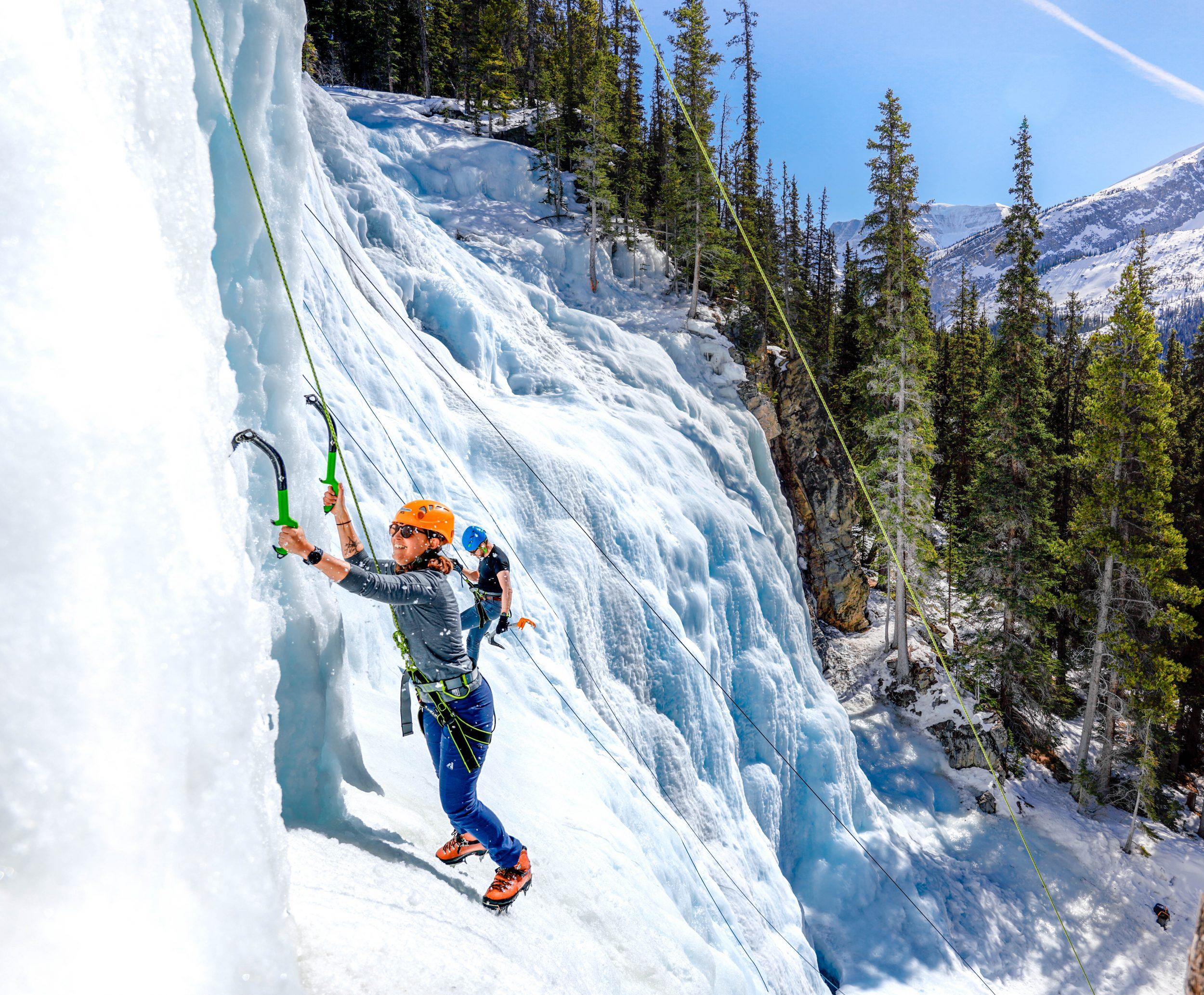 Canada IJsklimmen Jasper National Park