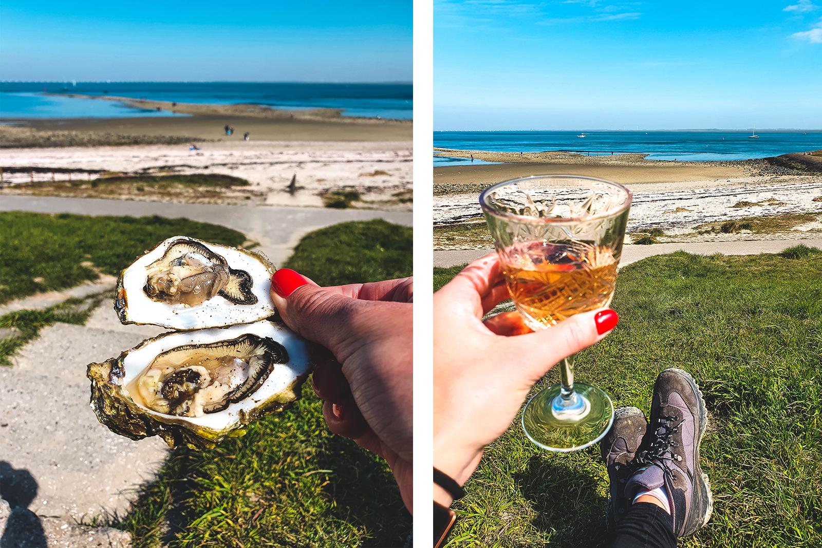 bubbels en oesters